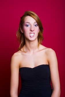 Free Crazy Girl Stock Photography - 682222