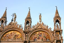 Basilica San Marco In Venice Stock Photography