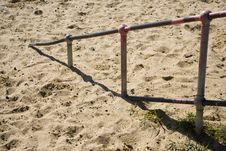 Free Sea Side Hand Rail Royalty Free Stock Images - 685509