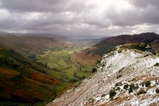 Free Langdale In Cumbrian Mountains Stock Photography - 685822