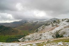 Free Langdale Valley In Cumbrian Mountains Royalty Free Stock Photo - 685825