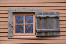 Free Shuttered Window Stock Photos - 686073