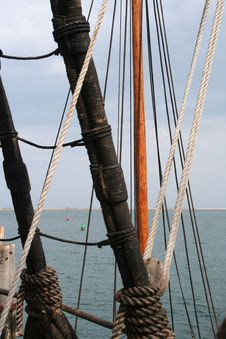 Free Tall Ship Rigging Stock Photos - 686103