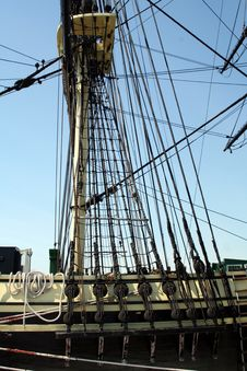 Free Tall Ship Mast Stock Images - 686364