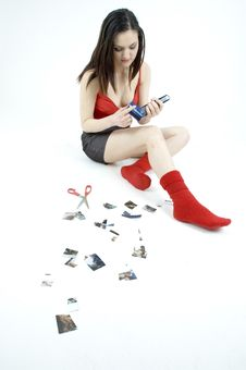 Free Dumped Girl Stock Photography - 686532
