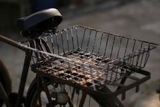 Free Bicycle Basket Stock Image - 686641