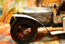 Free Toy Vintage Car 6 Royalty Free Stock Image - 686866