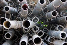 Free Construction Material - Long Pipes 1 Royalty Free Stock Image - 686986