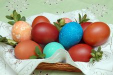 Free Easter Eggs Royalty Free Stock Photo - 687165