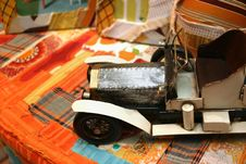 Free Vintage Toy Car Stock Image - 687781