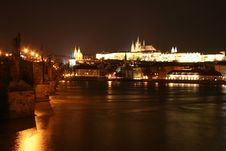 Free Prague At Night Stock Photos - 688683