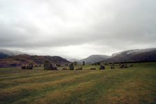 Free Castlerigg Stone Circle Royalty Free Stock Images - 689289
