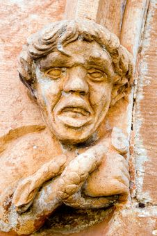 Free Old Gargoyle Stock Photography - 689362