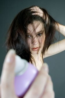 Hair Spray Stock Photography