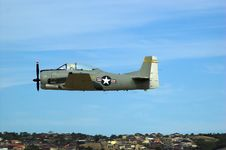 Free T28 Trojan Fly-By Stock Images - 689734