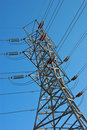 Free High Voltage Electricity Tower Stock Photography - 6806332