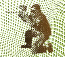 Free Halftone Paintball Stock Image - 6800001