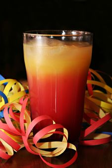 Free Cocktail (Tequila Sunrise) Stock Photos - 6800953