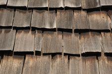 Free Wooden Shakes 1 Stock Photos - 6801113