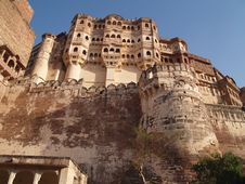 Mehrangarh Fort,Jodhpur Royalty Free Stock Photos