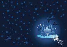 Free Winter Background. Christmas Background Stock Photography - 6801762