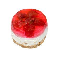 Raspberry Cake Stock Photos