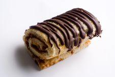 Free Chocolate Creamy Roll Royalty Free Stock Photos - 6802318