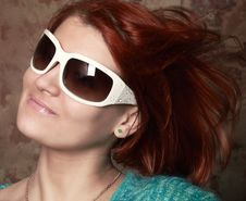 Free Young Woman With Sunglasses Stock Photos - 6803323