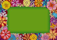 Free Flower Frame Stock Photography - 6803422