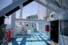 Main Deck On Ferry Royalty Free Stock Images