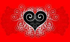 Free Girl S Secret. Heart Stock Photos - 6804183