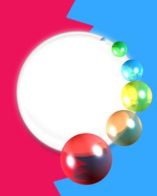 Free Bubble Circle 2 Royalty Free Stock Photography - 6804237