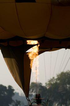Free Hot Air Balloon Burner Stock Images - 6804244