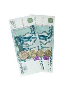 2009 Rubles Stock Image