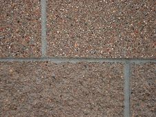 Cement Brick Wall Detail And Background Royalty Free Stock Images