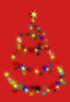 Free Christmas Tree Royalty Free Stock Photo - 6805065