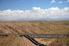 Free New Mexico Bridge Royalty Free Stock Images - 6805749