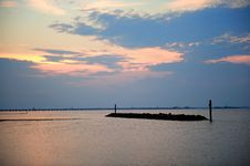 Free Sunset Landscape Royalty Free Stock Image - 6805906