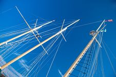 Free Ship Masts Royalty Free Stock Photo - 6805945