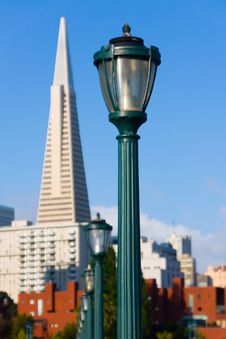 Free Lamp Post In San Francisco Stock Photos - 6805993