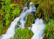 Free Waterfall In Autumn Stock Photos - 6806243