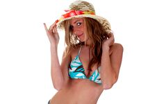 Free PRETTY BLONDY WITH HAT Royalty Free Stock Photos - 6807028