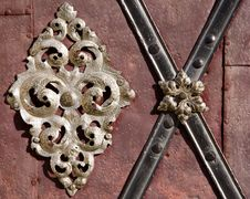 Free Metal Decoration Detail Royalty Free Stock Image - 6807846