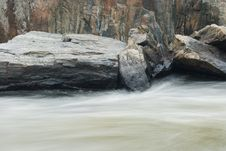 Free River And Stone Royalty Free Stock Image - 6807886