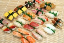 Free Prepared And Delicious Sushi Royalty Free Stock Photos - 6808328