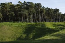Free Craters In Canadian National Vimy Memorial Park Stock Photography - 6808892