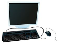 Free Computer System Royalty Free Stock Photo - 6809375