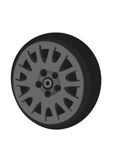 Free Car Tire Stock Photography - 6809392