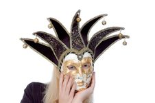 Free Beautiful Woman In A Mask Stock Photos - 6809843