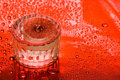Free Candle And Water Drops Royalty Free Stock Photo - 6810395
